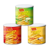 Pringle style potato chips
